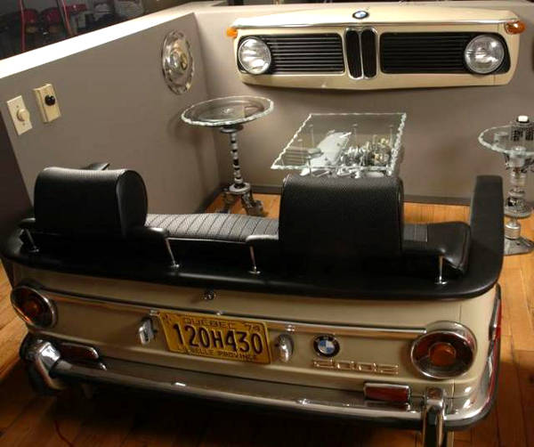 Turbocharge Your Living Room With Car Furniture Talk