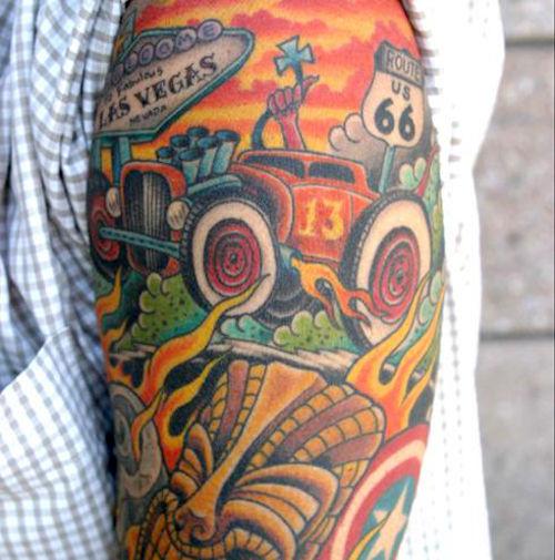 the ten best and ten worst car tattoos top 10 car news