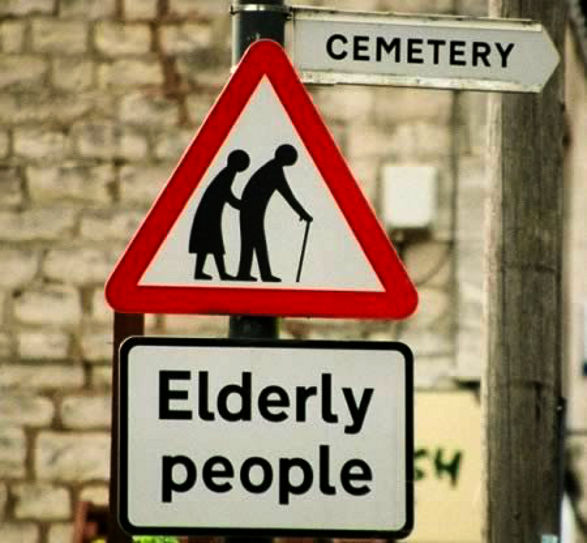 Elderly People cemetery