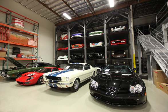 the 20 coolest garages in the world car talk car news jul 2012. Black Bedroom Furniture Sets. Home Design Ideas