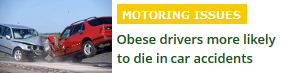 Fat people more likely to die in accidents