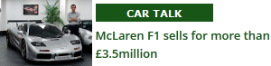 McLaren F1 sells for &pound;3.5m